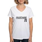 Mustang 70 Women's V-Neck T-Shirt