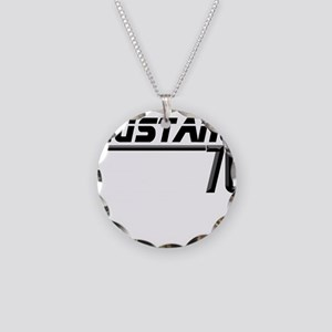 Mustang 70 Necklace Circle Charm