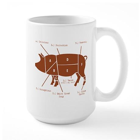 Delicious Pig Parts! Large Mug