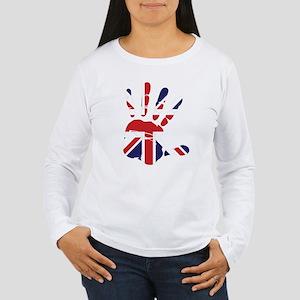 Hand Women's Long Sleeve T-Shirt