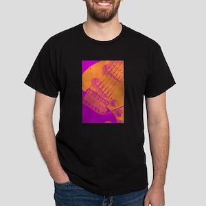 Pop Art Strat Electric Guitar Dark T-Shirt