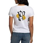 Pop Art - 'Coffee Pot' Back/Front Women's T-Shirt