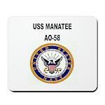 USS MANATEE Mousepad