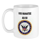 USS MANATEE 11 oz Ceramic Mug