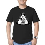 IT Professional's Triangle Men's Fitted T-Shirt (d