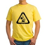 IT Professional's Triangle Yellow T-Shirt