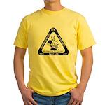 IT Professional's Triangle Yellow T-Shirt