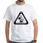 IT Professional's Triangle White T-Shirt
