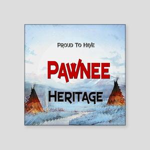 "Otoe-Heritage--2400x2400 Square Sticker 3"" x 3"