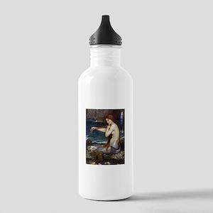 John William Waterhouse Mermaid Stainless Water Bo
