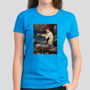 John William Waterhouse Mermaid Women's Dark T-Shi