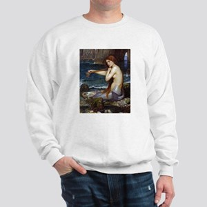 John William Waterhouse Mermaid Sweatshirt