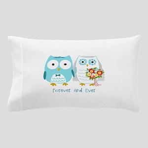 Owls Wedding Pillow Case