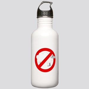 no sheep Stainless Water Bottle 1.0L
