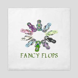 Fancy Flops Queen Duvet