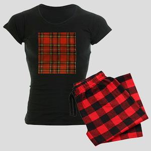 Tartan Pride Women's Dark Pajamas