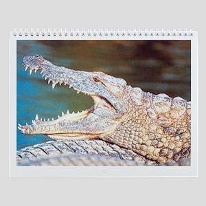 Crocodile Wall Calendar