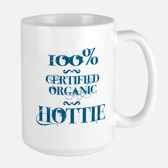 100% certified organic hottie Large Mug