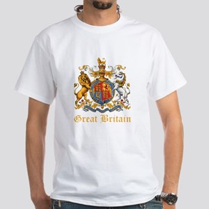 Royal Coat Of Arms White T-Shirt