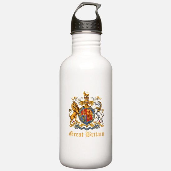 Royal Coat Of Arms Water Bottle
