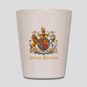 Royal Coat Of Arms Shot Glass