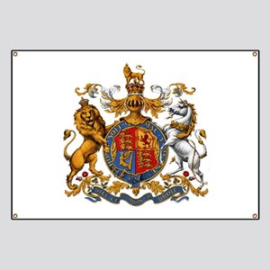 Royal Coat Of Arms Banner