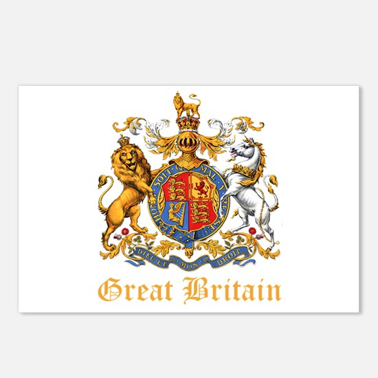 Royal Coat Of Arms Postcards (Package of 8)