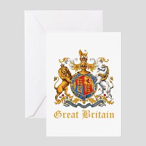 Royal Coat Of Arms Greeting Card