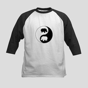 Yin Yang Hippo Baseball Jersey