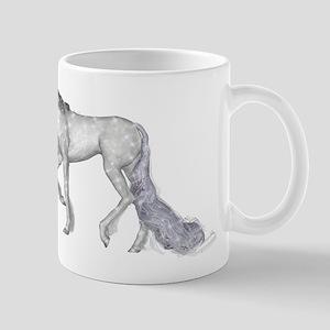 Silver Unicorn Mug