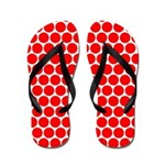 Red Dots (FF) Flip Flops