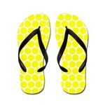 Yellow Dots (FF) Flip Flops