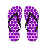 Purple Dots (FF) Flip Flops