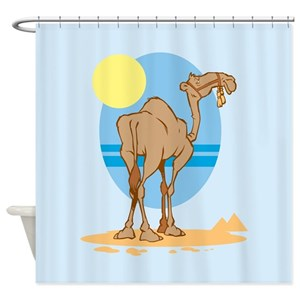 Cute Camel Shower Curtains