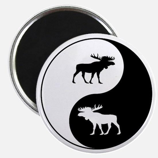 Yin Yang Moose Magnets
