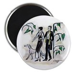 """fashion figures & dog 2.25"""" Magnet (10 pack)"""