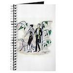fashion figures & dog Journal