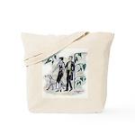 fashion figures & dog Tote Bag