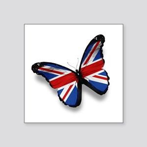 "Butterfly Square Sticker 3"" x 3"""