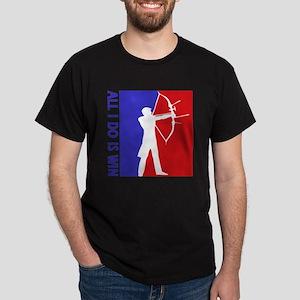 All I do is win Archery designs Dark T-Shirt