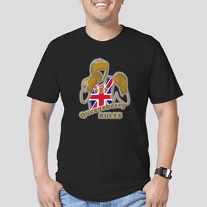 British Queensberry Boxing Men's Fitted T-Shirt (d