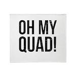 O. M. Q. Throw Blanket