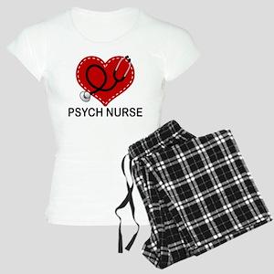 Psych Nurse Heart Women's Light Pajamas