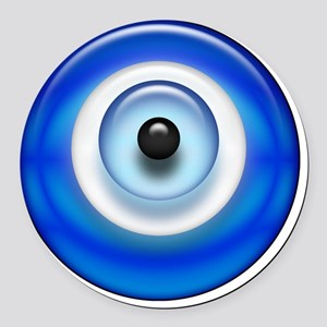 Evil Eye Round Car Magnet