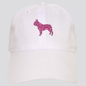 Pink Leopard Frenchie Cap
