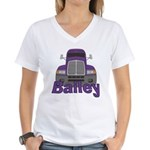 Trucker Bailey Women's V-Neck T-Shirt