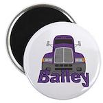 Trucker Bailey Magnet