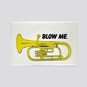 Blow Me. Rectangle Magnet