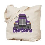 Trucker Barbara Tote Bag