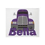 Trucker Bella Throw Blanket